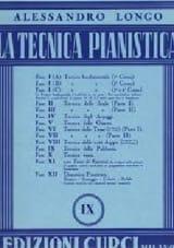 Tecnica Della Polifonia. Volume 9 Alessandro Longo laflutedepan.com