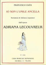 Io son L'umile Ancella. Adriana Lecouvreur laflutedepan.com