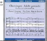 Requiem. CD Ténor Giuseppe Verdi Partition Chœur - laflutedepan.com