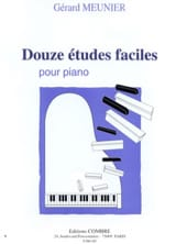 Gérard Meunier - 12 Easy Studies - Sheet Music - di-arezzo.co.uk