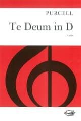 Te Deum In D Henry Purcell Partition Chœur - laflutedepan.com
