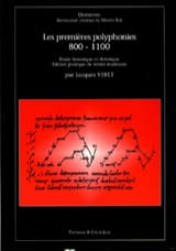 Les Premières Polyphonies 800-1100 Partition laflutedepan.com