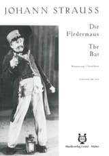 Johann fils Strauss - Die Fledermaus - Sheet Music - di-arezzo.co.uk