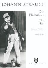 Johann fils Strauss - Die Fledermaus - Partition - di-arezzo.fr