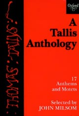 A Tallis Anthology Thomas Tallis Partition Chœur - laflutedepan