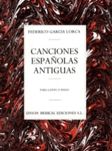 12 Canciones Españolas Antiguas Lorca Federico Garcia laflutedepan.com