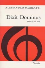 Alessandro Scarlatti - Dixit Dominus - Partition - di-arezzo.fr