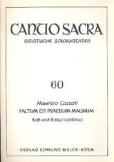Maurizio Cazzati - Factum Est Praelium Magnum - Partition - di-arezzo.fr