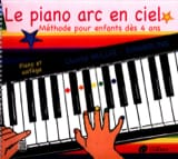 Le Piano Arc en Ciel Partition Piano - laflutedepan.com