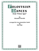 Polovtsian Dances. 2 Pianos Alexandre Borodine laflutedepan.com