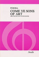 Come Ye Sons Of Art (SSA) Henry Purcell Partition laflutedepan.com