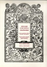 English Lute Songs John Dowland Partition Luth - laflutedepan.com