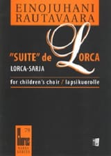 Einojuhani Rautavaara - Suite of Lorca. Equal Voice - Sheet Music - di-arezzo.co.uk