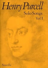 Solo Songs Volume 1 Henry Purcell Partition laflutedepan.com