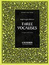 3 Vocalises Williams Ralph Vaughan Partition laflutedepan.com