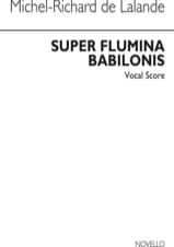 Michel-Richard de Lalande - Super Flumina Babilonis - Partition - di-arezzo.fr