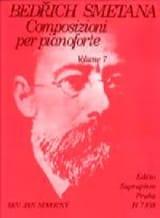 Bedrich Smetana - Composizioni Per Pianoforte Volume 7 - Partition - di-arezzo.fr