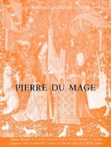 Livre D'orgue Pierre du Mage Partition Orgue - laflutedepan.com