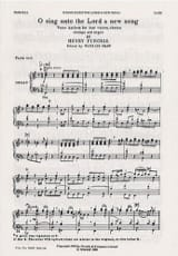 O Sing Unto The Lord A New Song - Henry Purcell - laflutedepan.com