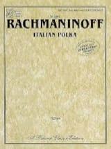 RACHMANINOV - Polka italiana. 4 mani. - Partitura - di-arezzo.it