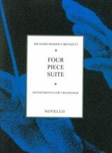 4 Piece Suite. 2 Pianos Richard Rodney Bennett laflutedepan.com