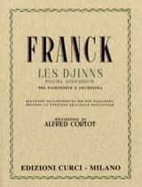 César Franck - Les Djinns. 2 Pianos - Partition - di-arezzo.fr