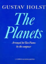 The Planets. 2 pianos HOLST Partition Piano - laflutedepan