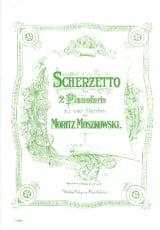 Moritz Moszkowski - Scherzetto. 2 Pianos - Partition - di-arezzo.fr