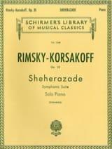 Nicolai Rimsky-Korsakov - Sheherazade Opus 35 - Partition - di-arezzo.fr