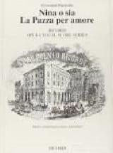 Giovanni Paisiello - Nina O Sia la Pazza Per Amore - Partition - di-arezzo.fr