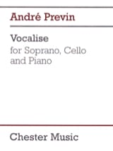 André Prévin - Vocalise - Sheet Music - di-arezzo.co.uk