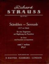 Richard Strauss - Ständchen Op. 17-2. Medium voice - Sheet Music - di-arezzo.com