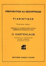 Odette Gartenlaub - Preparation for Piano Decryption Volume 5. - Sheet Music - di-arezzo.co.uk