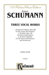 3 Vocal Works - Robert Schumann - Partition - Chœur - laflutedepan.com