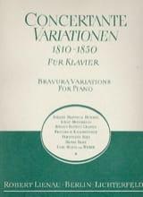Concertante Variationen 1810-1830 Partition Piano - laflutedepan.com