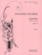 Legenden Opus 59. Volume 1. 4 Mains Anton Dvorak laflutedepan.com