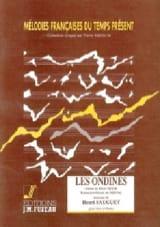 Les Ondines Henri Sauguet Partition Mélodies - laflutedepan.com