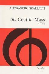 Alessandro Scarlatti - St. Cecilia Mass - Partition - di-arezzo.fr