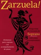 Zarzuela! Soprano Partition Opéras - laflutedepan.com