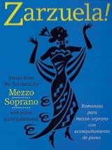 Zarzuela ! Mezzo Partition Opéras - laflutedepan.com