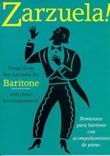 Zarzuela ! Baritone Partition Opéras - laflutedepan.com