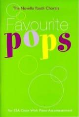 Favourite Pops Ssa Partition Chœur - laflutedepan.com