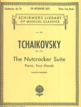 The Nutcracker Suite Opus 71a. 4 Mains TCHAIKOWSKY laflutedepan.com