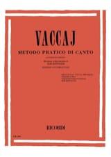 Nicola Vaccai - Metodo Pratico. Voz grave - Partitura - di-arezzo.es