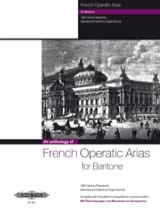 French Operatic Arias Baryton Partition Opéras - laflutedepan.com