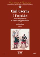 2 Fantaisies Op. 247 sur I Puritani CZERNY Partition laflutedepan.com