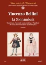 Vincenzo Bellini - La Sonnambula. Piano - Partition - di-arezzo.fr