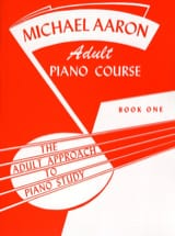Adult Piano Course Book 1 AARON Partition Piano - laflutedepan.com