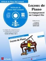 Kreader / Kern Jerome / Keveren - Leçons de Piano Volume 1. CD - Partition - di-arezzo.fr