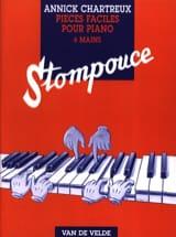 Stompouce. 6 Mains Annick Chartreux Partition Piano - laflutedepan.com